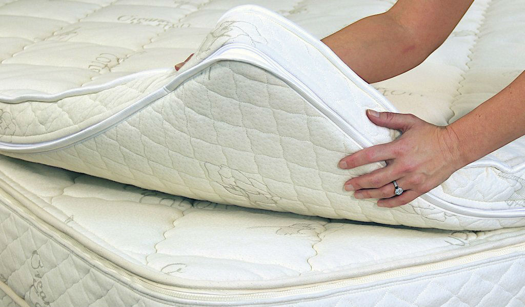 Put Your Toe in the Water and Transform Your Old Mattress With a Latex Topper!